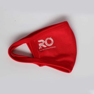 RO Face Mask For Adult - Red