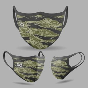 RO Digital Face Mask Green Waves