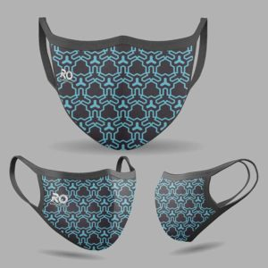 RO Digital Face Mask Geometric
