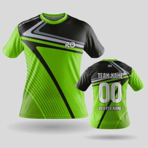 RO Sports Jersey black green