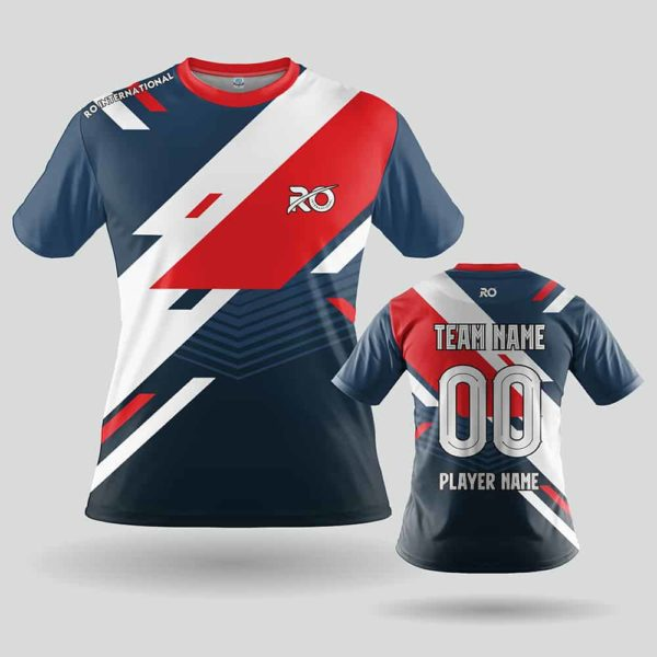 RO Sports Jersey Blue Red