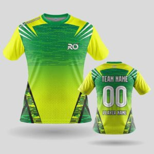 RO Sports Jersey Yellow Green