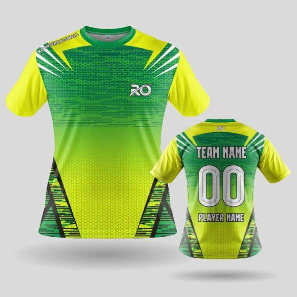 RO Sports Jersey Yellow Green