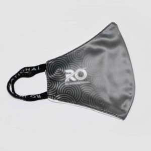 RO Digital Face Mask Grey Black Design