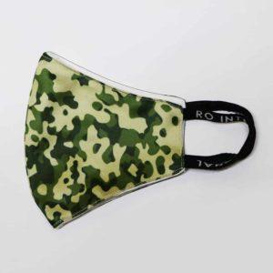 RO Digital Face Mask Military Green