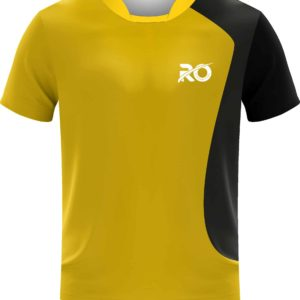 Ro Cut and Sew Stripped Yellow Black