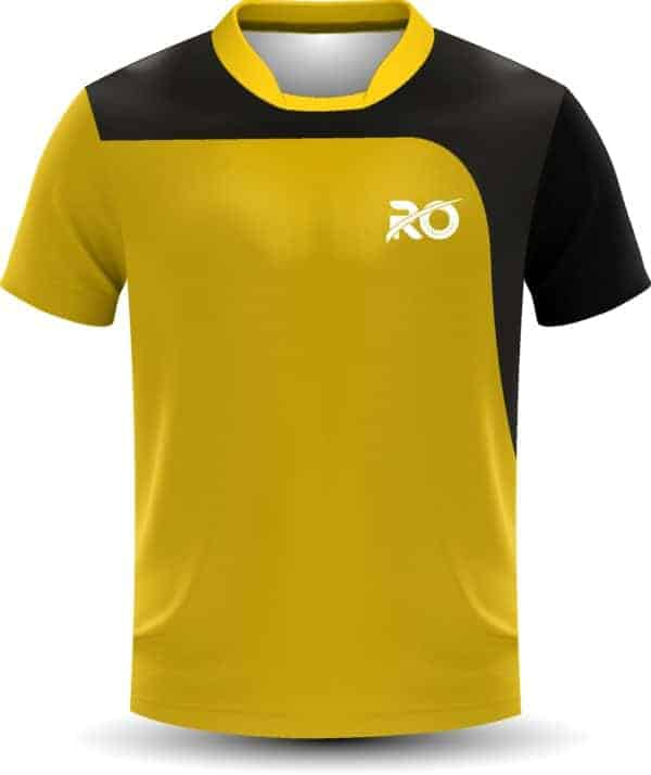 Ro Cut and Sew Yellow Black
