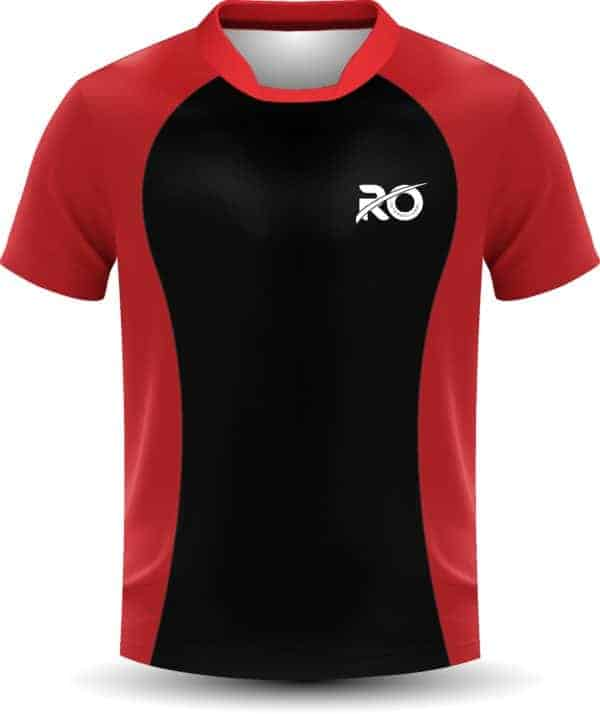 Ro Cut and Sew Red Black