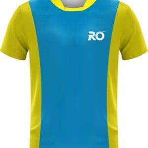 Ro Cut and Sew skyblue yellow