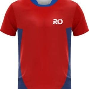 Ro Cut and Sew Red Blue