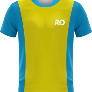 Ro Cut and Sew Yellow Skyblue