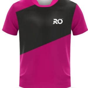 Ro Cut and Sew Pink Black