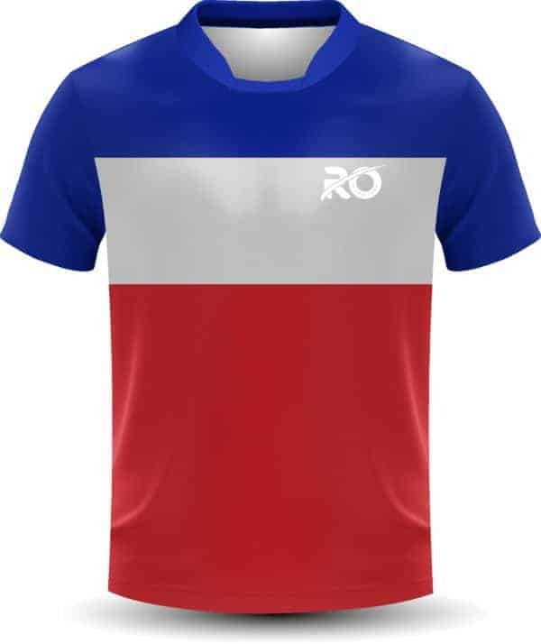 Ro Cut and Sew Red White Blue