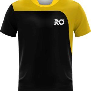 Ro Cut and Sew Blck Yellow