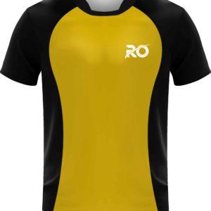 Ro Cut and Sew Black Yellow
